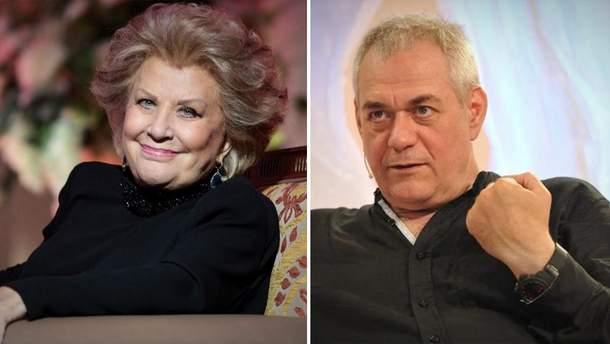 Російські журналісти говорили із мертвою співачкою на фейковому похороні Доренка