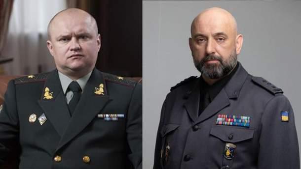 Павел Демчина (слева) и Сергей Кривонос (справа)