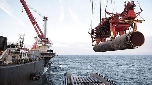 """Для компаній які займаються будівництвом """"Північного потоку-2"""" підготували нові санкції"""