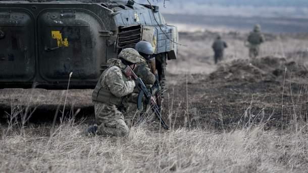Українські бійці знищили окупанта на Донбасі