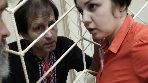 Владимир Балух с адвокатом