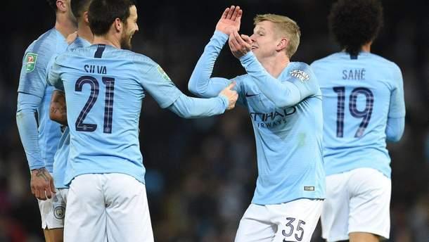 """""""Манчестер Сити"""" рискует остаться без Лиги чемпионов"""