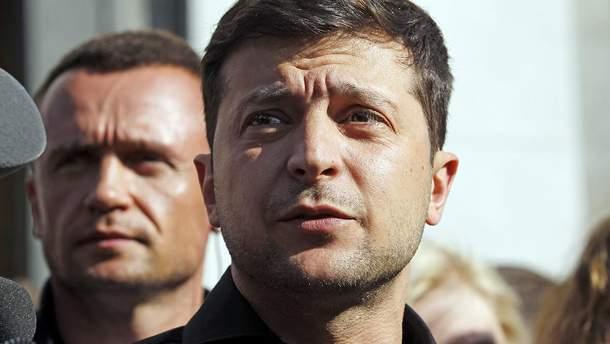 Зеленский может распустить парламент на следующий день после своей инаугурации