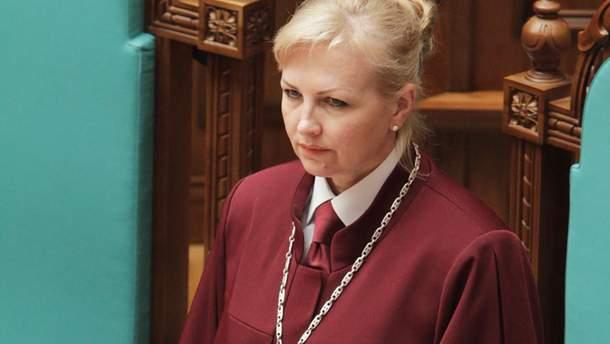 Наталья Шаптала — биография нового главы Конституционного суда