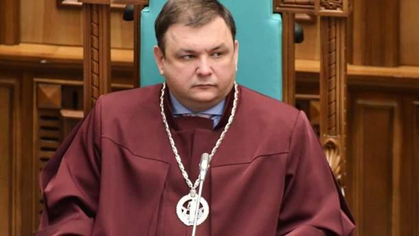 Шевчук обратится в милицию и суд из-за своего увольнение из Конституционного суда