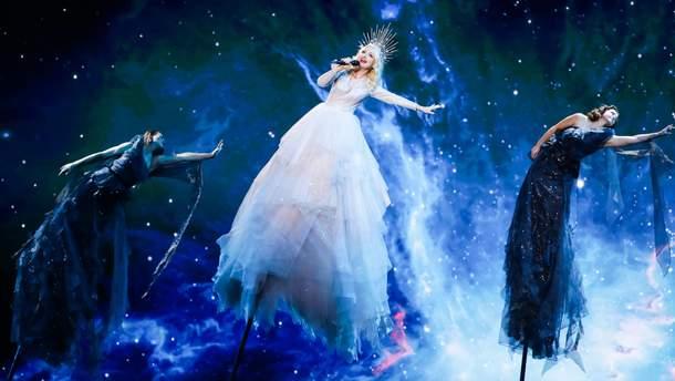 Кейт Миллер-Хейдке на Евровидении-2019