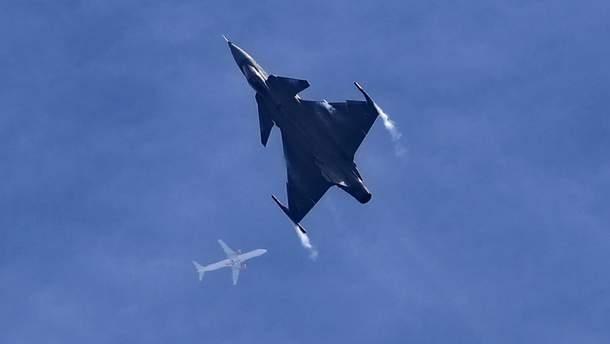 Сили НАТО перехопили російські літаки