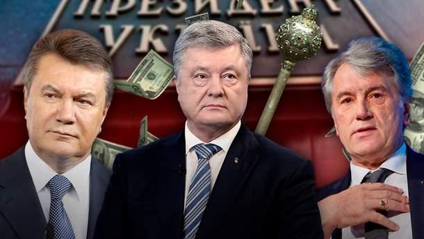 Скільки коштували інавгурації українських президентів