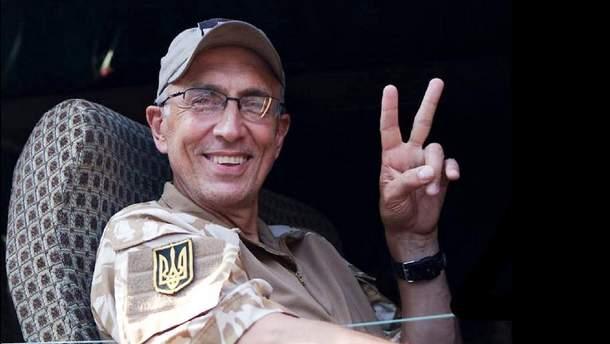 Погибший доброволец АТО из США Марко Паславский