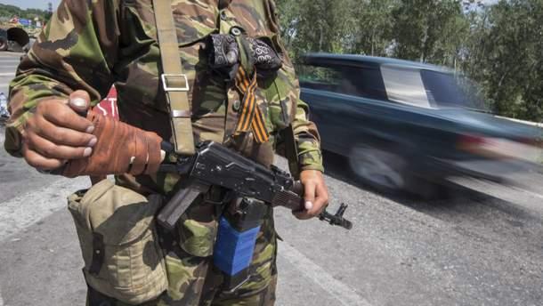 Украинские бойцы уничтожили оккупанта на Донбассе