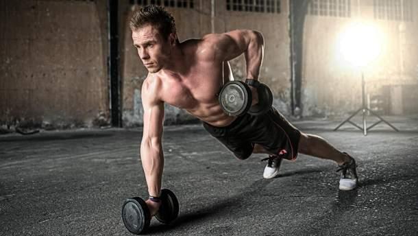 Як накачати м'язи