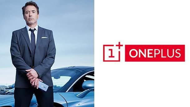 Роберт Дауні-молодший став обличчям OnePlus 7 Pro