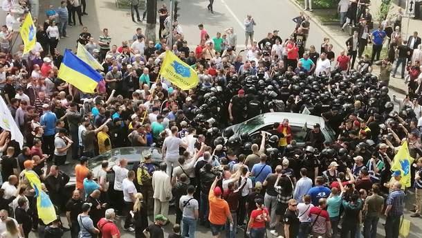 Мітинг євроблях 16 травня 2019 у Києві - фото і відео сутички
