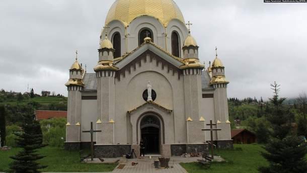 В церкви Славского уничтожили уникальные росписи столетней давности