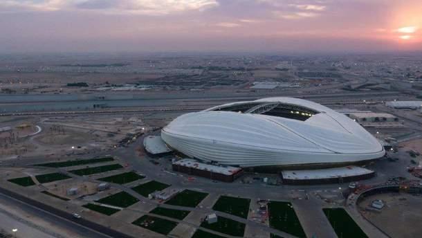 Стадион к ЧМ-2022 года в Катаре