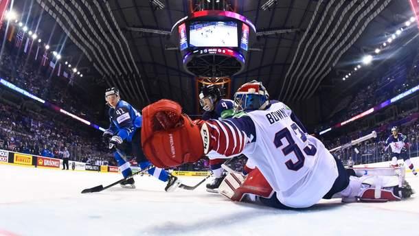 Финляндия победила Великобританию на ЧМ по хоккею 2019