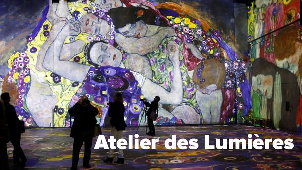 """Брак искусства и технологий: почему обязательно надо посетить """"Мастерскую света"""" в Париже"""