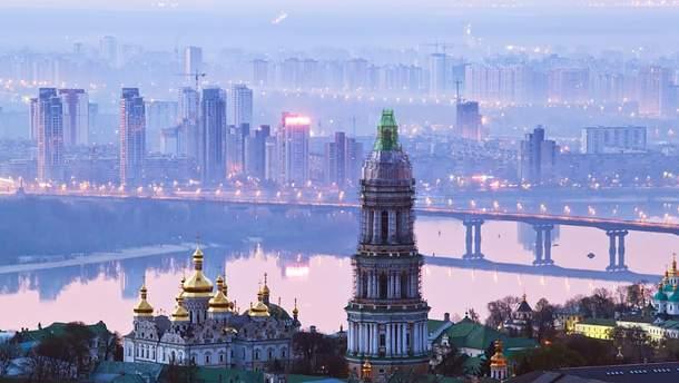 Киев вечером