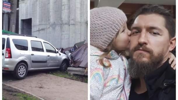 """Водій авто збив ветерана АТО з донькою в Києві та навіть не викликав їм """"швидку"""""""