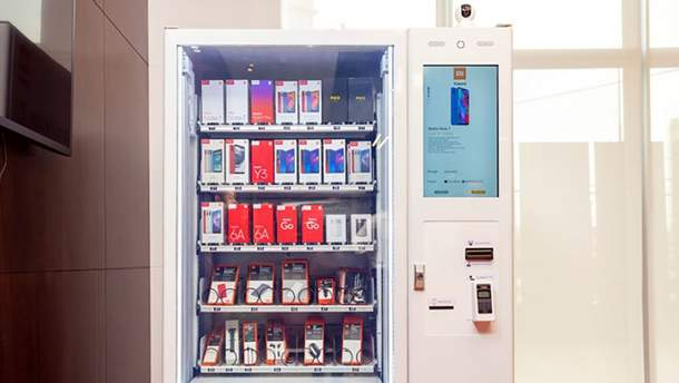 Очередная новинка от Xiaomi – автомат продажи смартфонов