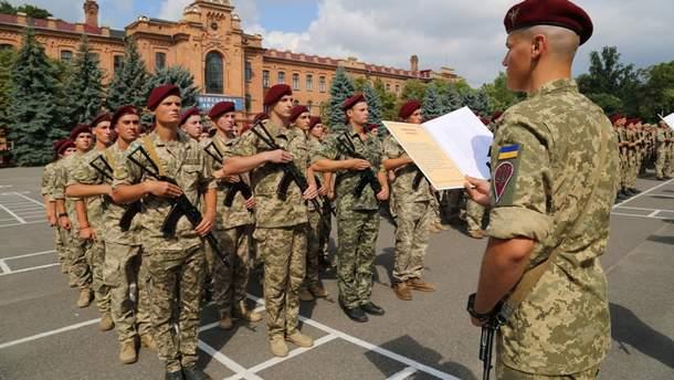 Армия присягает только народу Украины