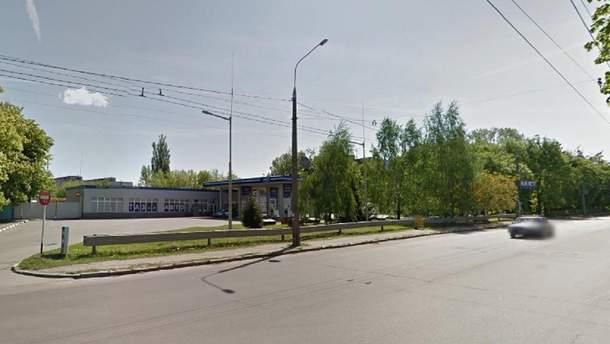 Улица в Житомире, на которой случился пожар