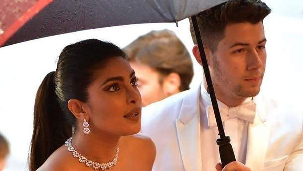Приянка Чопра и Ник Джонас на Каннском кинофестивале