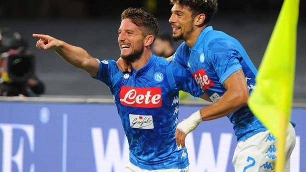 """""""Інтер"""" зазнав принизливої поразки від """"Наполі"""" у чемпіонаті Італії: відео"""