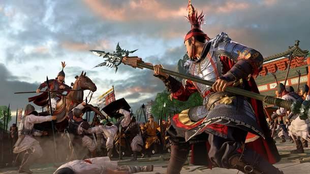 Скріншот з гри Total War: Three Kingdoms