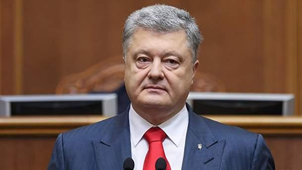 Порошенко хочет баллотироваться в президенты на следующих выборах в 2024 году