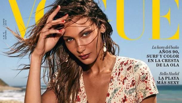 Белла Хадід стала зіркою іспанського Vogue: спокусливі фото