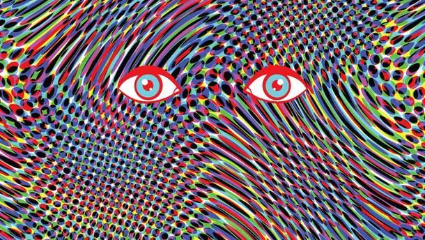 Художник принял LSD и нарисовал 9 портретов