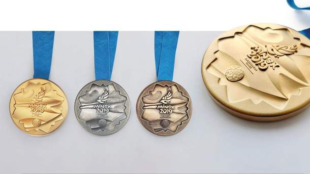 Медалі ІІ Європейських ігор-2019