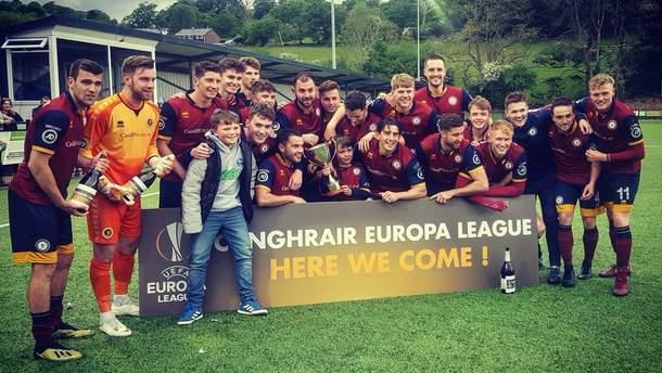 У Лігу Європи пробилася команда студентів з Уельсу
