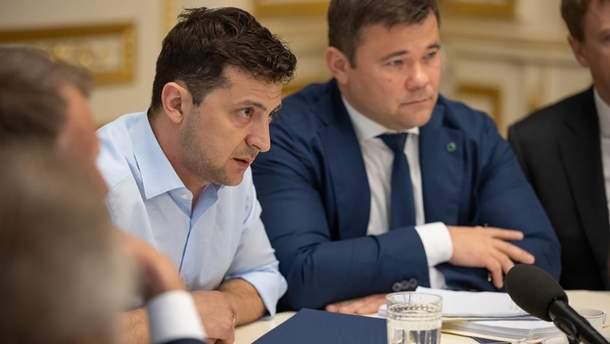 Андрій Богдан очолив Адміністрацію Президента Зеленського