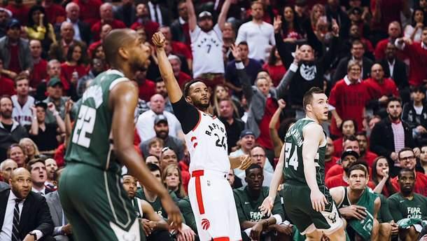 """""""Торонто"""" перемогли """"Мілуокі"""" та зрівняли рахунок у серії"""