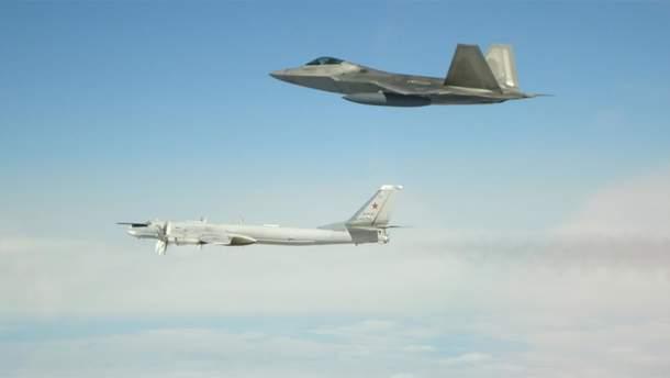 У США перехопили 6 російських військових літаків