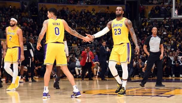 """""""Лейкерс"""" очолили топ курйозних моментів НБА"""