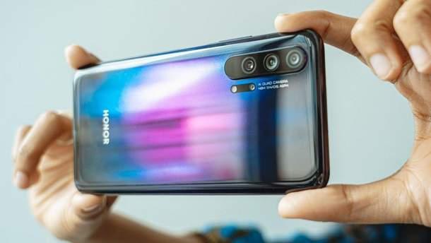 Камеру смартфона Honor 20 Pro визнали однією з найкращих на ринку