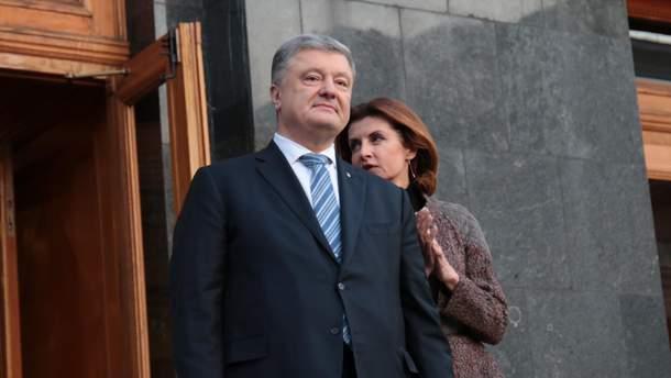 Порошенко розкритикував пропозицію команди Зеленського провести референдум щодо перемовин з РФ