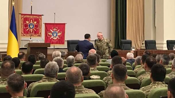 Полторак представив нового главу Генштабу Хомчака
