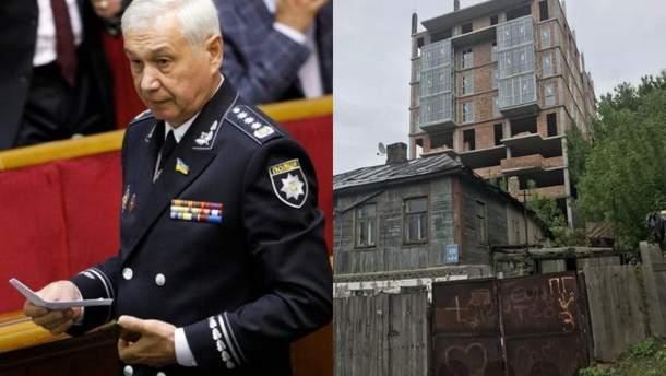 Виктор Король и строительство многоэтажки на его участке в Киеве
