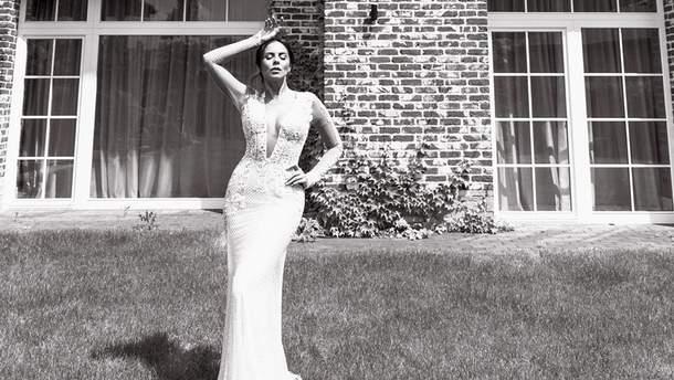 Настя Каменських у весільній сукні - фото сукні з весілля