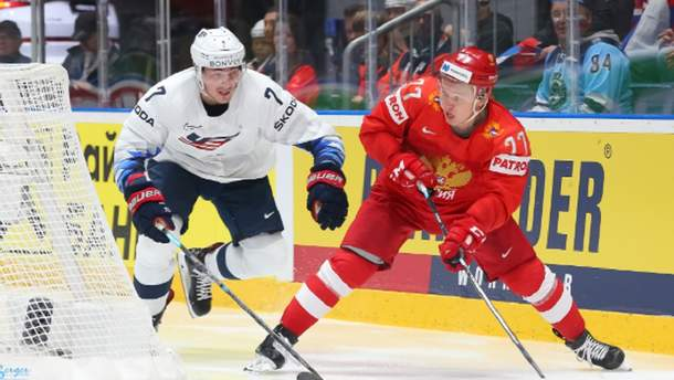 Россия дожала США на ЧМ-2019 по хоккею, Канада феерично вырвала победу у Швейцарии: видео