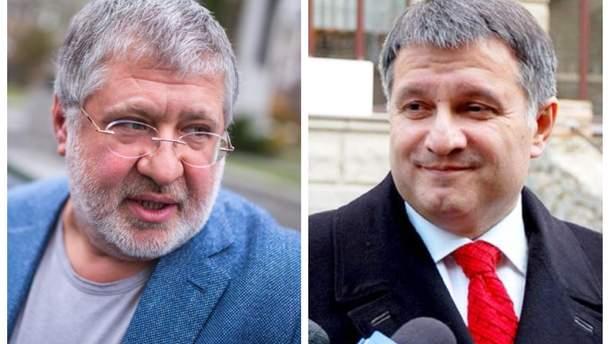 Коломойский встречался с Аваковым после возвращения в Украину