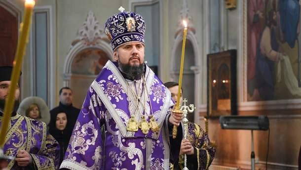 Епифаний 24 мая собирает Синод Православной церкви Украины