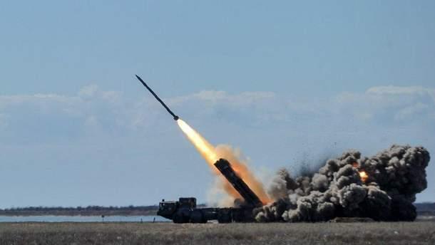 """В Одессе испытали ракеты """"Ольха-М"""""""