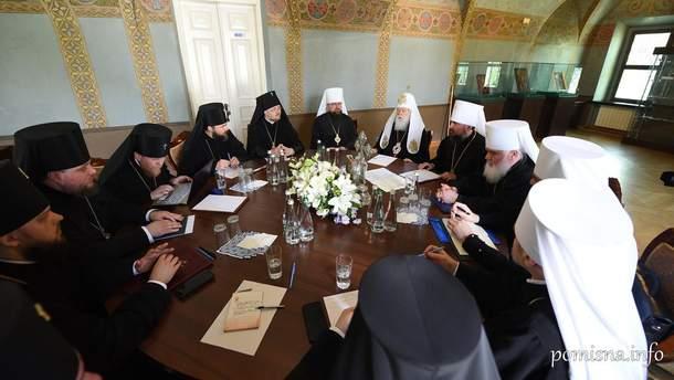 Православная церковь Украины выразила поддержку митрополиту Епифанию