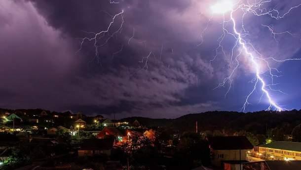 Погода 25 травня 2019 Україна - литимуть дощі та гримітимуть грози