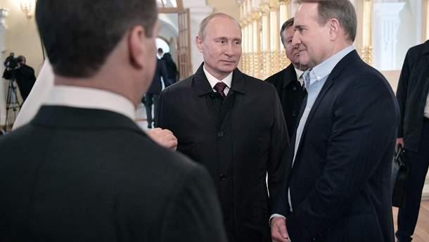 У Зеленского хотят исключить Медведчука из переговоров в Минске